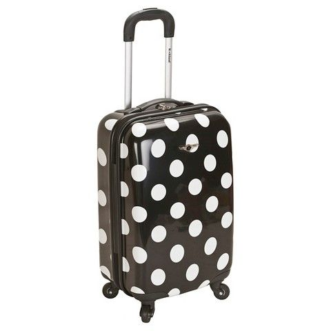Rockland Luggage Reno Polycarbonate Carry On