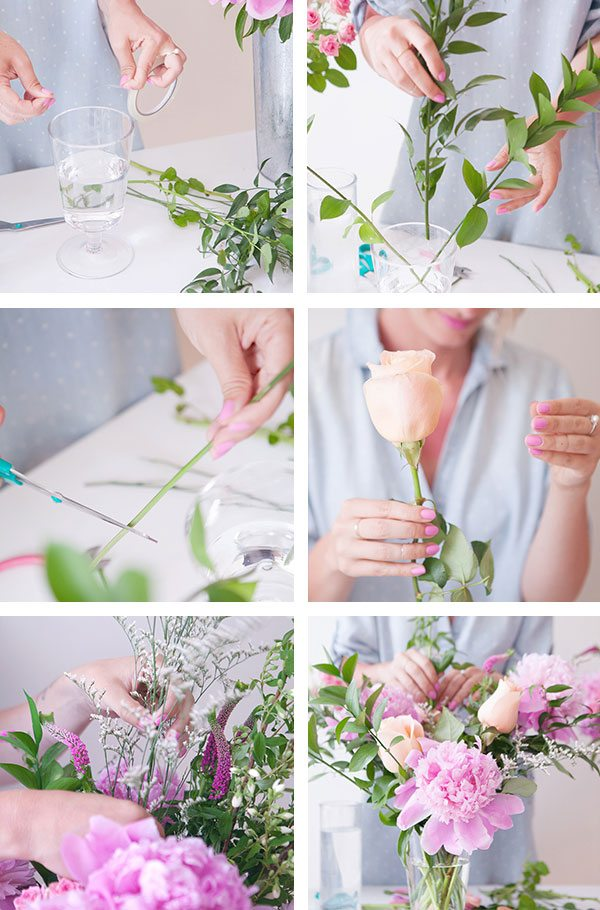 Tips For Creating A Cascading Floral Arrangement