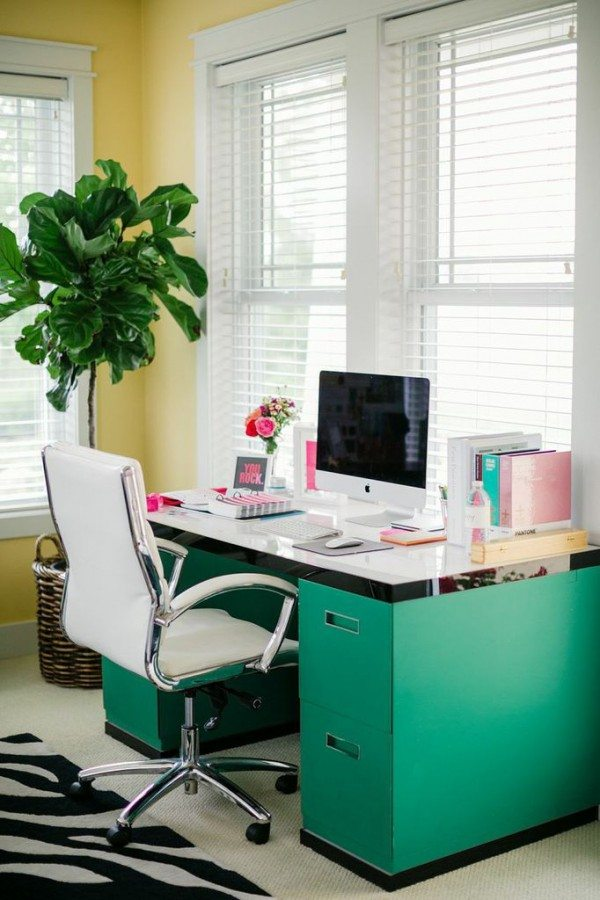 colorful office