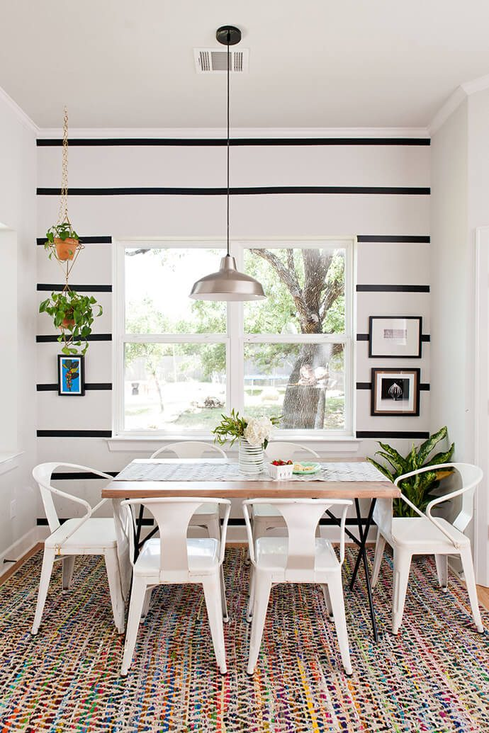 white metal dining room chairs