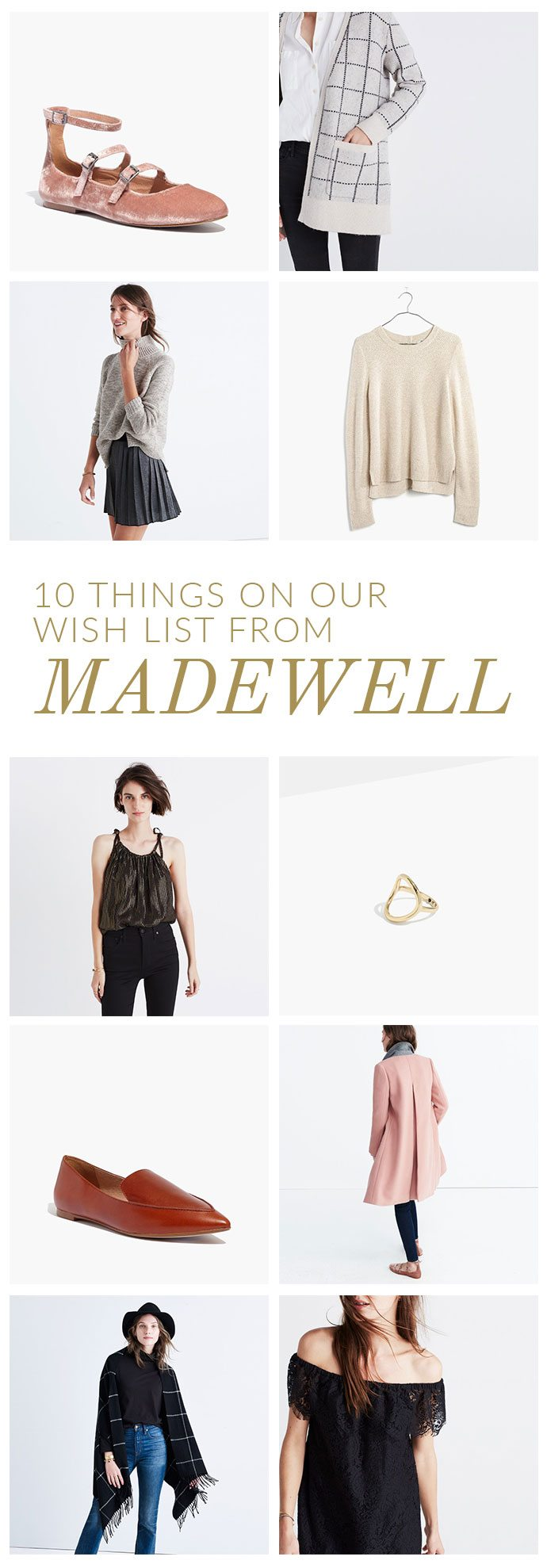 10 Things On Our Wish List From Madewell