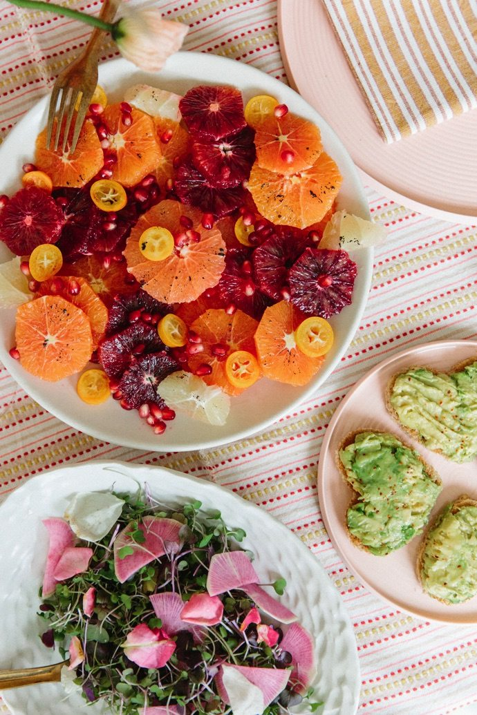 Colorful entertaining ideas for a Spring party
