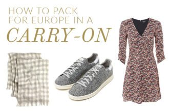 How To Pack For Europe In A Carry-On