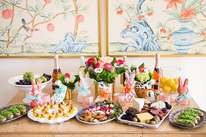 How to host an easy easter brunch at home glitter guide how to host an easy easter brunch at home negle Images