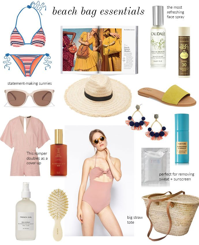 16 Essentials For Your Beach Bag This Summer