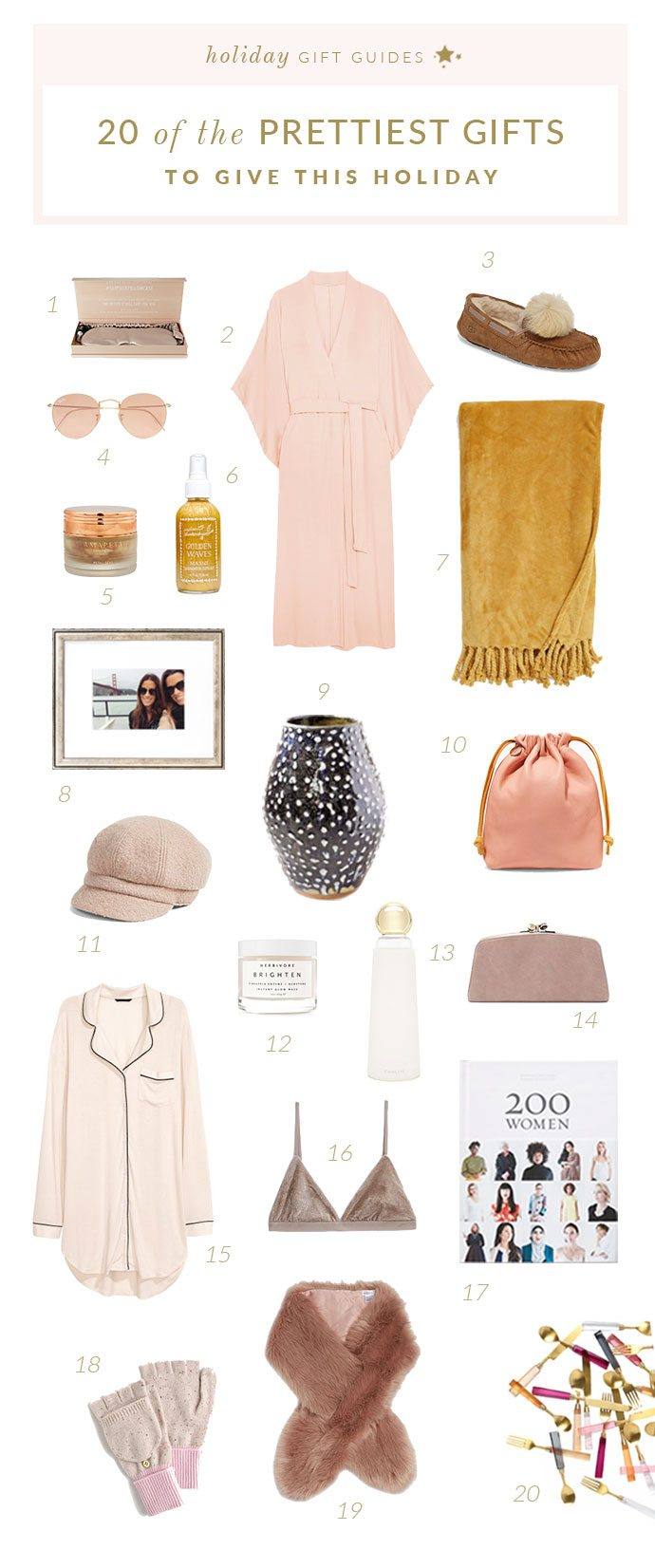 20 Of The Prettiest Gifts To Give This Season