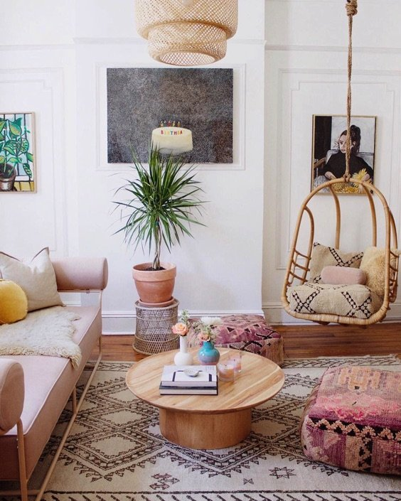 Cool Living Room Colors: 6 Living Rooms That Are As Cozy As They Are Cool