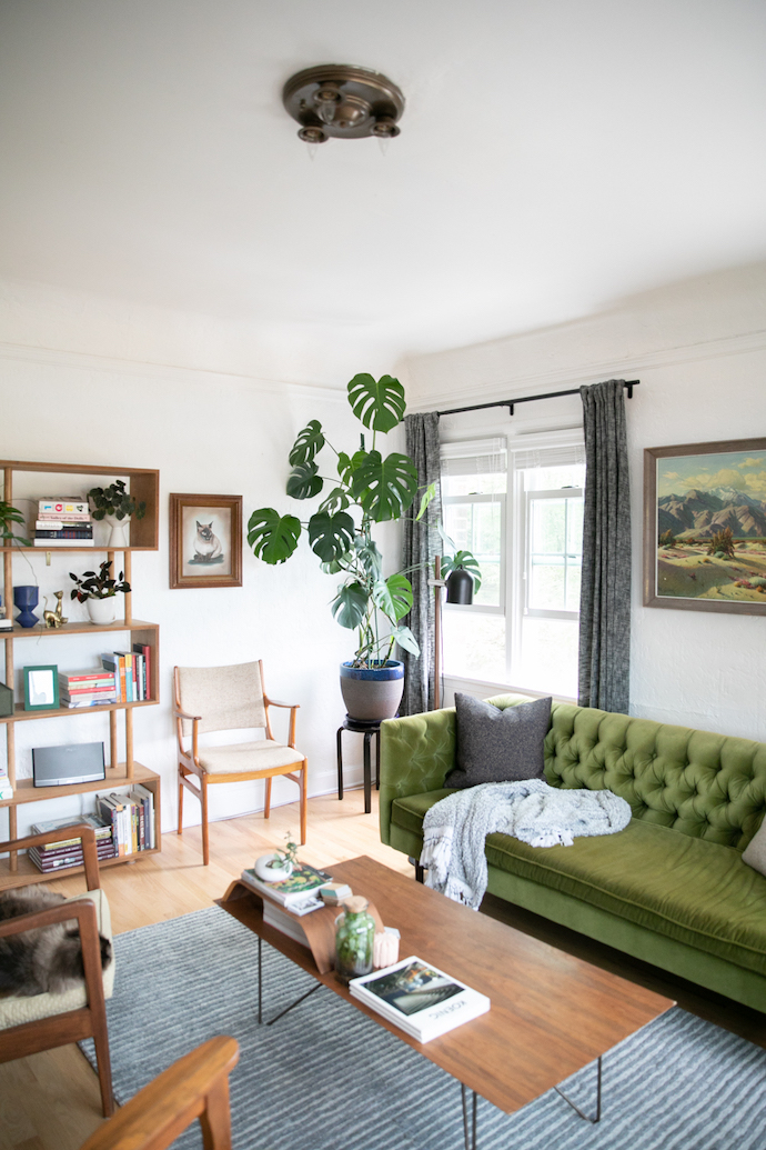 Andy Barlow S Portland Home Is Packed Full Of Plants Personality Glitter Guide